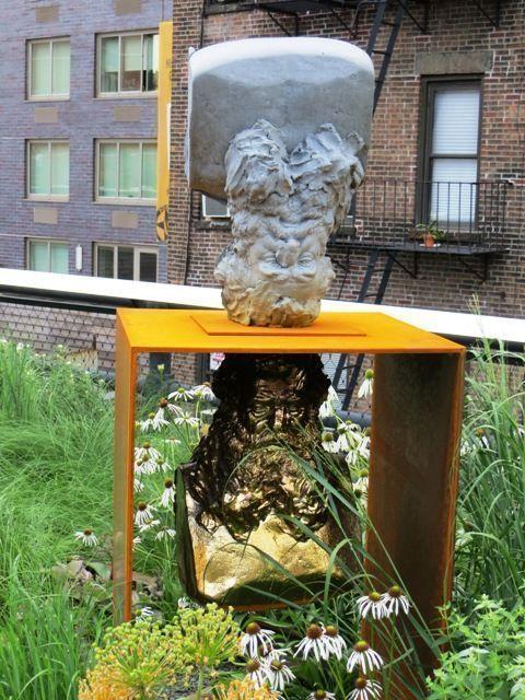 High line escultura