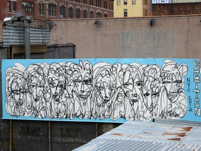 High line grafitti
