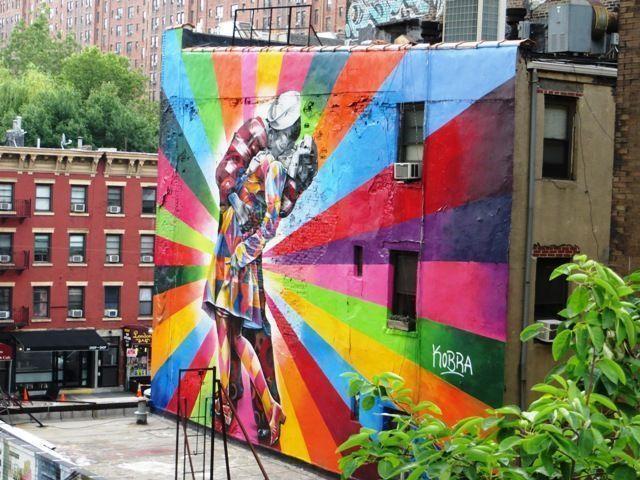 High line grafitti1