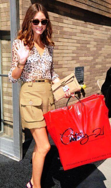 outlets en nueva york Olivia Palermo