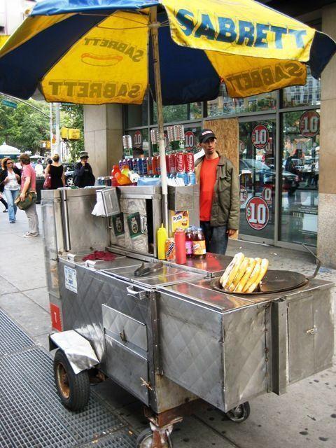 Que hacer en Nueva York -Carro hotdog