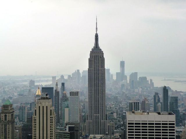 Que hacer en Nueva York -Empire State desde Rockefeller