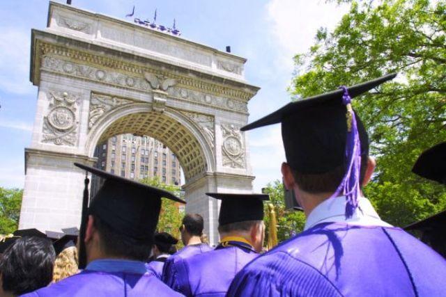 Graduacion NYU arco