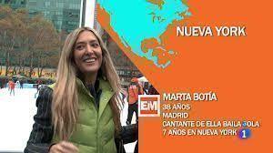 Españoles en el mundo Marta Botía