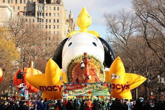 Acción de Gracias en Nueva York-Snoopy