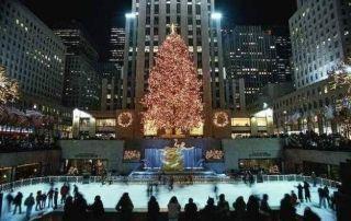 Navidad en Nueva York-Arbol Rockefeller