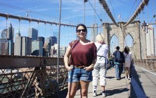 Paulina de Chile y su viaje en familia a Nueva York