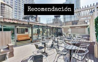 Terraza La Quinta Inn Manhattan1