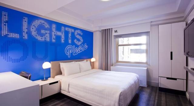 Row hotel habitación