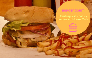 Burger Joint hamburguesas