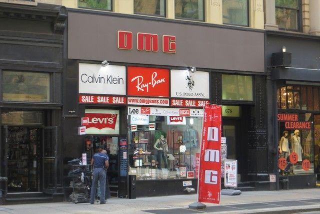 Dónde comprar Levi's en Nueva York tiendas multimarca
