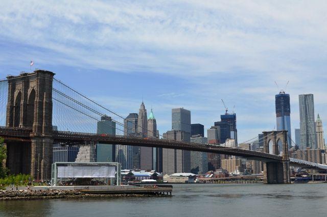 Que hacer en Nueva York -Puente de Brooklyn de día
