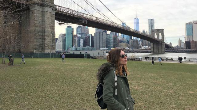 Cruzar andando el Puente de Brooklyn