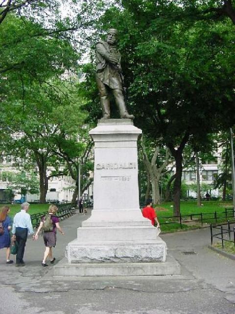 Estatua Garibaldi Wspark