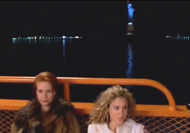Sexo en Nueva York Ferry Staten Island