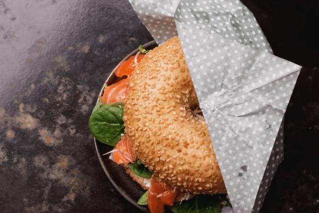 Comer en Nueva York-Bagel