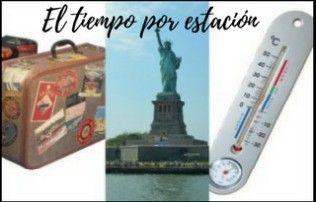 El tiempo por estación en Nueva York