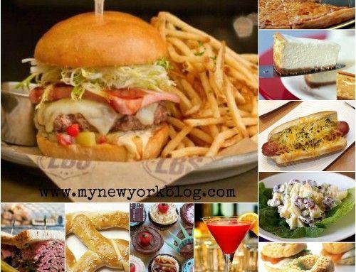 Comer en Nueva York. 10 comidas típicas neoyorquinas.