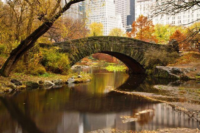 El tiempo en Nueva York en otoño