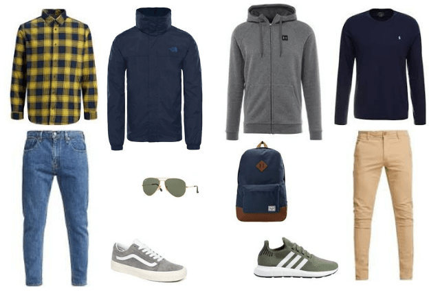 Qué ropa llevar a Nueva York en primavera hombre