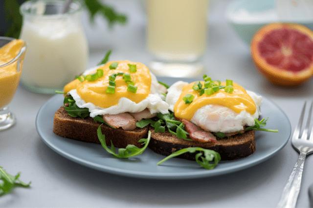 Restaurantes Nueva York-Huevos benedictinos