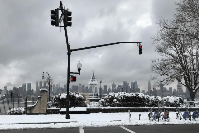 Tiempo invierno Nueva York