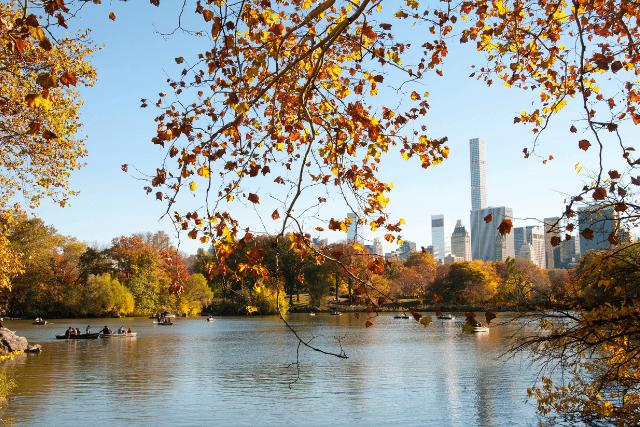 Tiempo otoño Nueva York