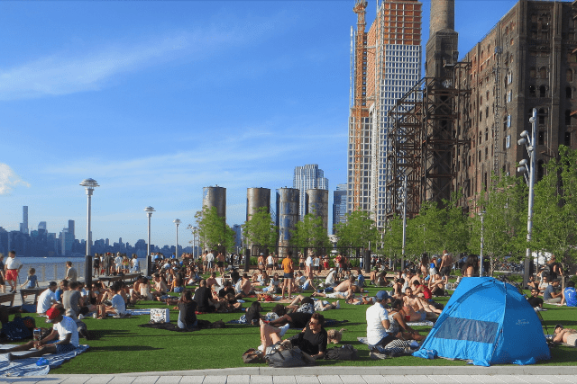 Tiempo primavera Nueva York