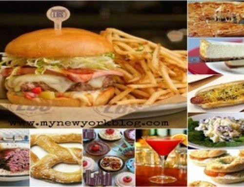 Comer en Nueva York, 10 comidas típicas neoyorquinas