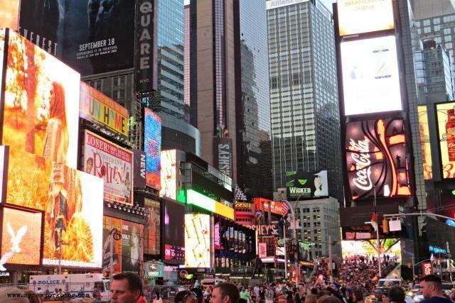 Qué visitar en Nueva York-Times Square
