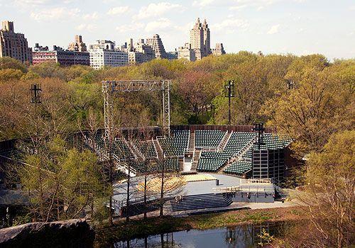 Delacorte theater Central Park