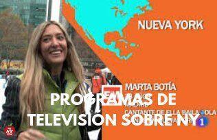 PROGRAMAS DE TELEVISIÓN SOBRE NUEVA YORK