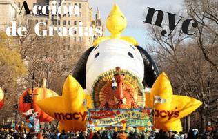 Acción de Gracias NYC