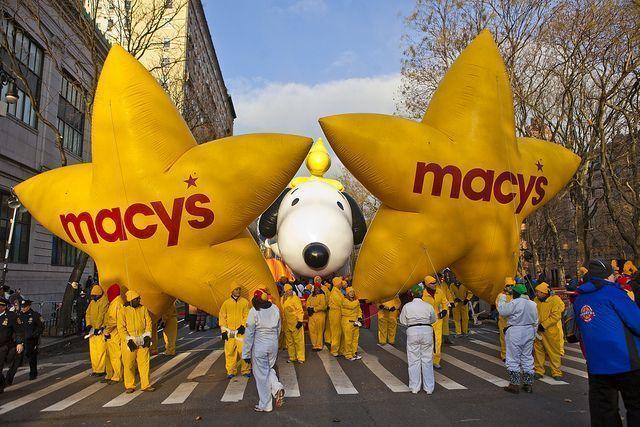 Acción de Gracias Nueva York-Macy's globos