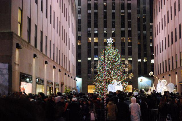 Encendido árbol Rockefeller Center