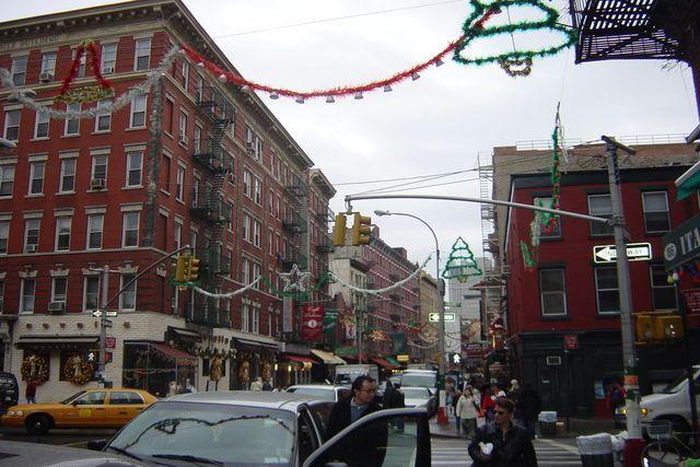 Navidad en Little Italy Nueva York