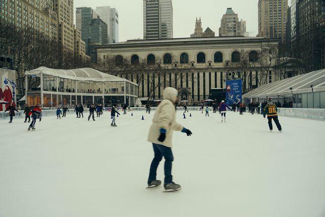 Pista patinaje Bryant Park