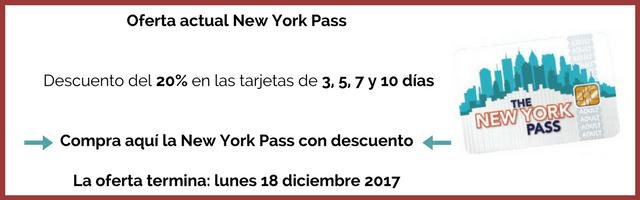 Oferta New York Pass