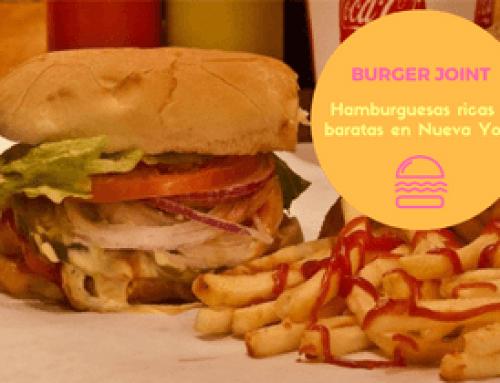Burger Joint, hamburguesas ricas en Nueva York