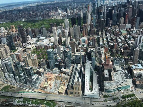 Central Park desde helicóptero