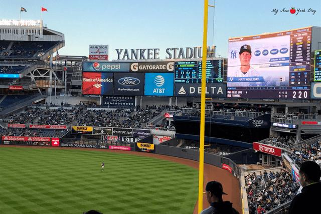 Bbéisbol en Nueva York-Yankee Stadium