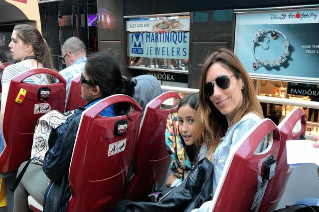 Viajar con niños-Bus
