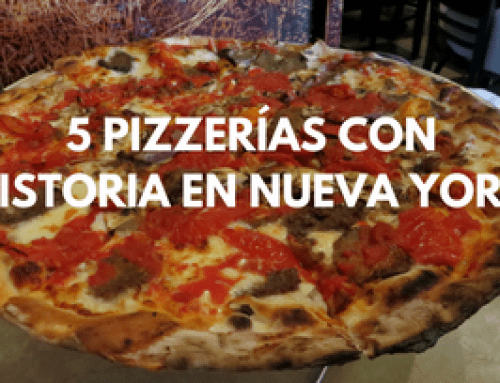 5 Pizzerías con historia en Nueva York