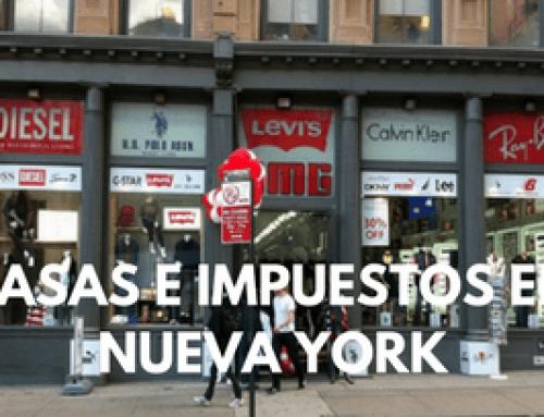 Las tasas en Nueva York (tax)