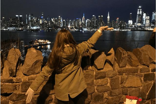 Skyline de Nueva York de noche