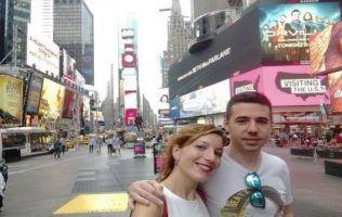 Nueva York y tú Gema y Pablo