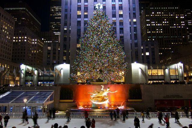Rockefeller Center árbol de Navidad