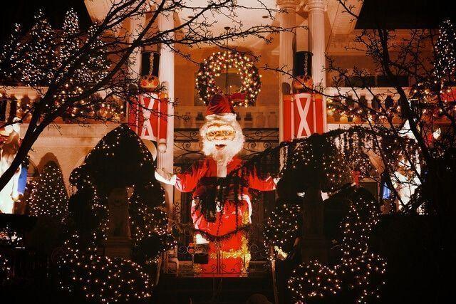 Dyker Heights en Navidad