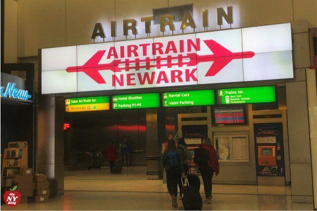 Aeropuerto Newark AirTrain
