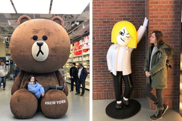 Qué ver en Times Square tiendas